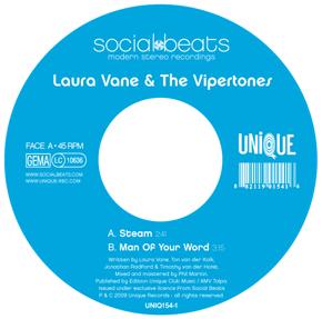 Laura Vane Vipertones Steam Man Of Your Word