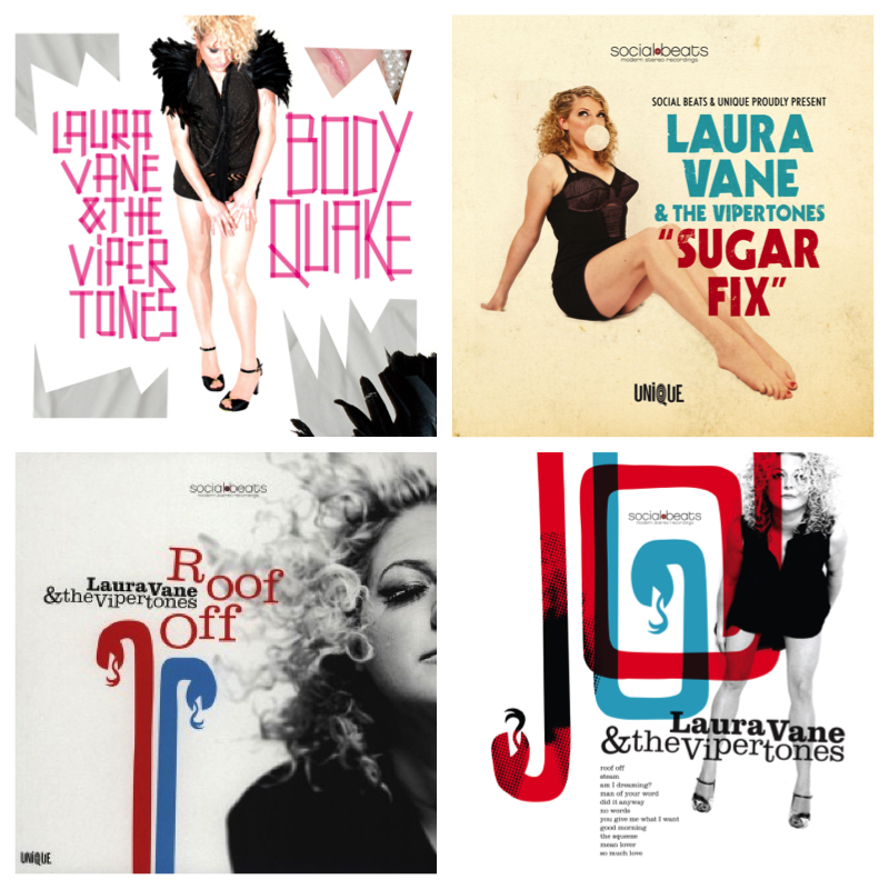 Laura Vane & The Vipertones Album Bundle